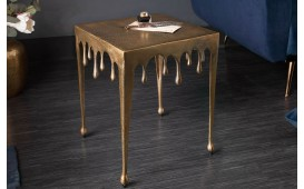 Designer Beistelltisch LIQUOR GOLD S