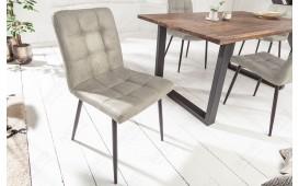 2 x Sedia di design LIVORNO BEIGE GREY-NATIVO™ Möbel Schweiz
