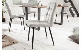 2 x Chaise Design LIVORNO GREY-NATIVO™ Möbel Schweiz