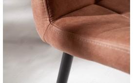 2 x Chaise Design LIVORNO BROWN-NATIVO™ Möbel Schweiz