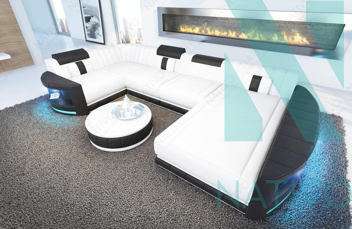 Designer Ledersofa ATLANTIS XL bei NATIVO Möbel Schweiz online kaufen