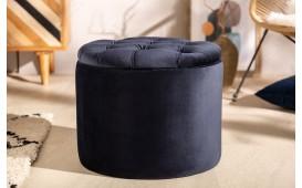 Designer Sitzhocker ROCCO BLUE S