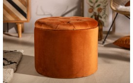 Tabouret Design ROCCO ORANGE S
