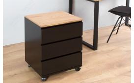 Designer Rollcontainer  ROLL OAK BLACK