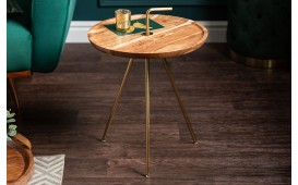 Tavolino d'appoggio di design SIMPLY GOLD 41 cm