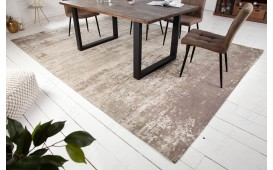 Tapis Design NOVEL BEIGE-GREY L-NATIVO™ Möbel Schweiz