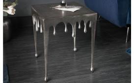 Tavolino d'appoggio di design LIQUOR SILVER S