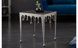 Table d'appoint Design LIQUOR SILVER L