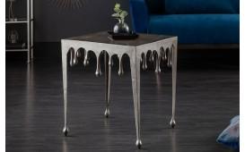 Tavolino d'appoggio di design LIQUOR SILVER L