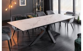 Table Design LIMBO MARBLE  180-225 cm-NATIVO™ Möbel Schweiz