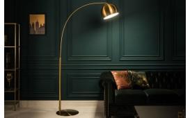 Lampadaire design ORBITO GOLD