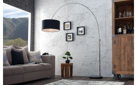 Lampadaire design BOWL BLACK