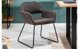 2 x Chaise Design SHELBY DARK GREY EN STOCK