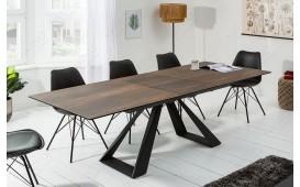 Tavolo da pranzo CONCA BROWN 180-230 cm