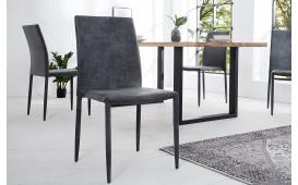 4 x Designer Stuhl TORINO DARK GREY AB LAGER