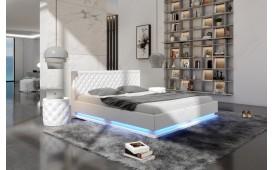 Lit tapissé MATRIX avec éclairage by ©iconX STUDIOS