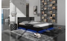 Designer Lederbett MATRIX mit Beleuchtung by ©iconX STUDIOS NATIVO™ Möbel Schweiz
