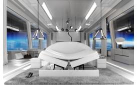Boxspringbett PERSEUS in Leder inkl. Topper & Bettkasten by ©iconX STUDIOS NATIVO mobili Svizzera