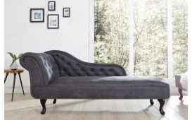 Designer recamiere CHESTERFIELD GREY