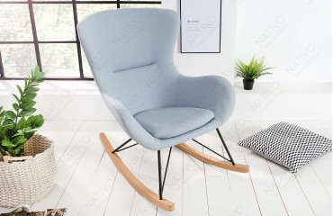 Designer Relaxsessel BERGEN LIGHT BLUE-NATIVO™ Möbel Schweiz