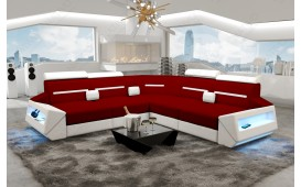 Designer Sofa AVATAR CORNER mit LED Beleuchtung & USB Anschluss-NATIVO™ Möbel Schweiz