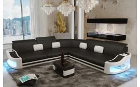 Canapé Design DIABLO CORNER avec éclairage LED & port USB-NATIVO™ Möbel Schweiz
