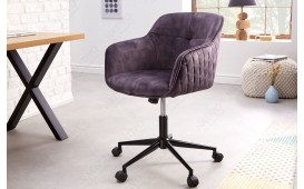 Chaise de bureau MASSIVO DARK GREY