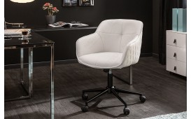 Chaise de bureau MASSIVO WHITE
