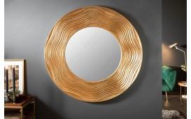 Specchio di design ROUND GOLD
