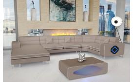 Designer Sofa GREGORY XL mit LED Beleuchtung