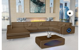 Designer Sofa GREGORY XL mit LED Beleuchtung-NATIVO™ Möbel Schweiz
