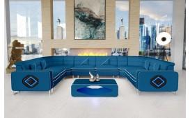 Designer Sofa GREGORY CORNER U FORM mit LED Beleuchtung-NATIVO™ Möbel Schweiz