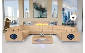 Divano di design GREGORY CORNER U FORM con illuminazione a LED-NATIVO™ Möbel Schweiz