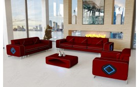 Designer Sofa GREGORY 3+2+1 mit LED Beleuchtung-NATIVO™ Möbel Schweiz