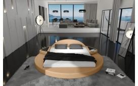 Designer Lederbett PLUTO by ©iconX STUDIOS-NATIVO™ Möbel Schweiz