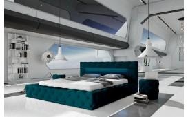 Designer Lederbett COMET mit Beleuchtung by ©iconX STUDIOS-NATIVO™ Möbel Schweiz