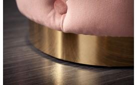 Designer Sitzhocker ROCCO CHESTER ROSE GOLD-NATIVO™ Möbel Schweiz