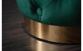 Designer Sitzhocker ROCCO CHESTER GREEN GOLD-NATIVO™ Möbel Schweiz
