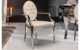 Chaise Design ROCCO BEIGE II AVEC LES ACCOUDOIRS-NATIVO™ Möbel Schweiz