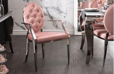 Chaise Design ROCCO ROSEE II AVEC LES ACCOUDOIRS-NATIVO™ Möbel Schweiz