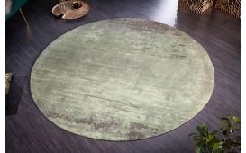 Tappeto di design ABSTRUSE GREEN ROUND