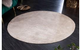 Designer Teppich ABSTRUSE BEIGE ROUND