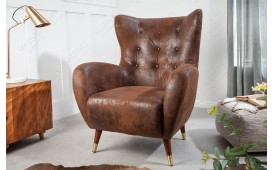 Fauteuil Relax ENFILE BROWN