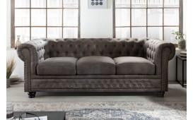 3 sitzer sofa CHESTERFIELD GREY