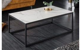 Table basse Design SIMBAS MARBLE  WHITE 100 cm-NATIVO™️ Möbel Schweiz