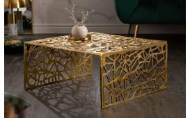 Designer Couchtisch MOZAIK GOLD
