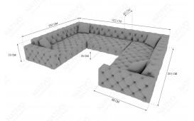Canapé Design VENUS CORNER U FORM by ©iconX STUDIOS-NATIVO™️ Möbel Schweiz