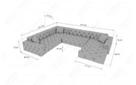Canapé Design VENUS XXL by ©iconX STUDIOS-NATIVO™️ Möbel Schweiz