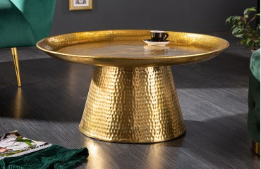 Designer Couchtisch BOHO GOLD IV-NATIVO™️ Möbel Schweiz