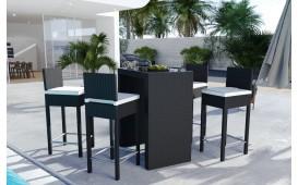 Rattan Lounge CARSON Bartischsatz (5tlg.) v2